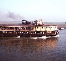 A paddle steamer of Bangladesh