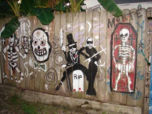 Baron Samedi graffiti