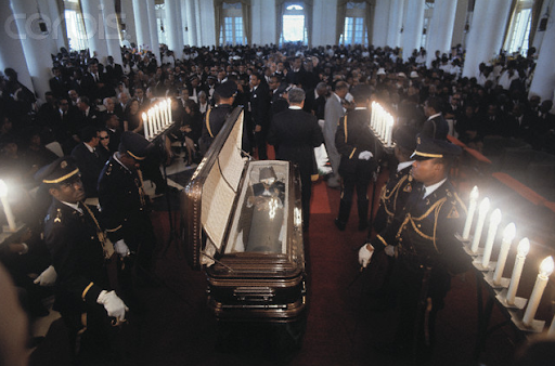 Funeral of Papa Doc