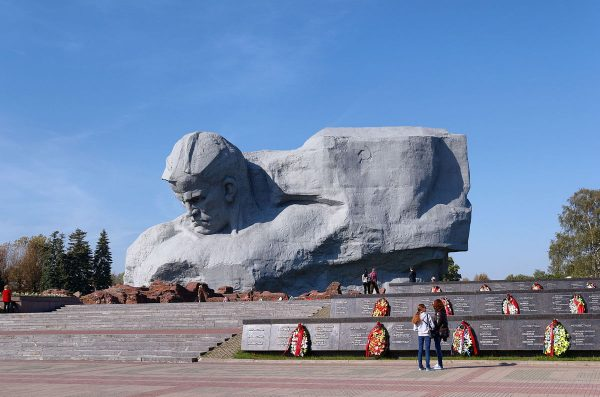Monument at the Brest Fortress