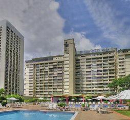 A view of Hotel Alba, previously the Hilton of Caracas, in Venezuela