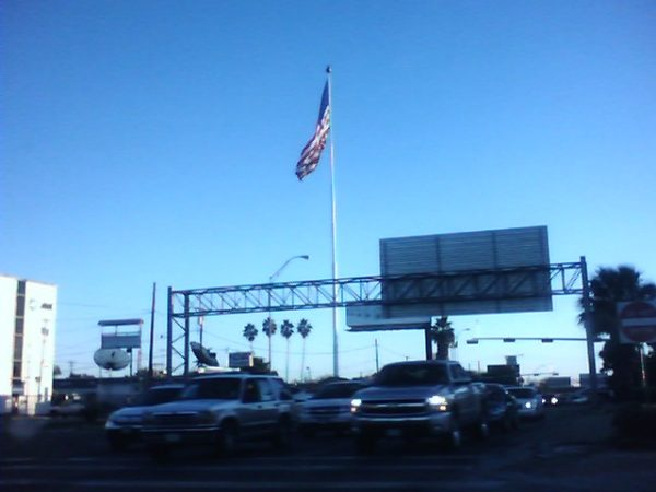 The tallest flagpole in the USA, the flagpole at Sheboygan