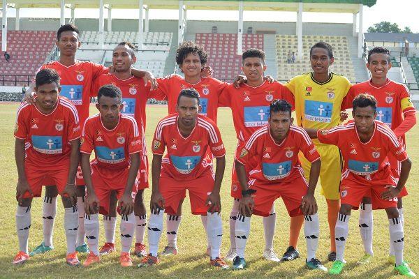 The national football team of East Timor