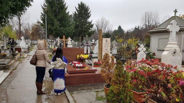 The grave of Nicolae and Elene Ceauşescu a site we take guests to on our Romania Bespoke tours