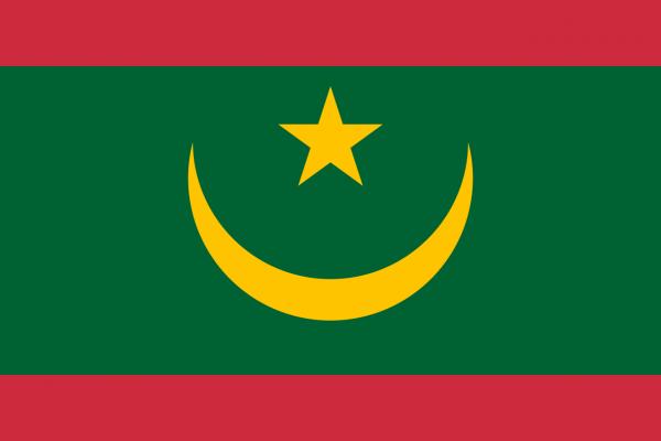 The current flag of Mauritania