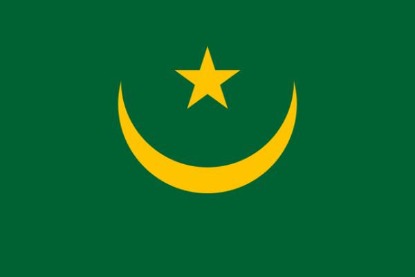 The old flag of Mauritania