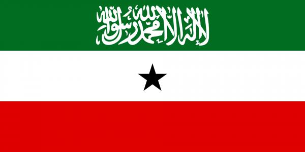 The flag of Somaliland