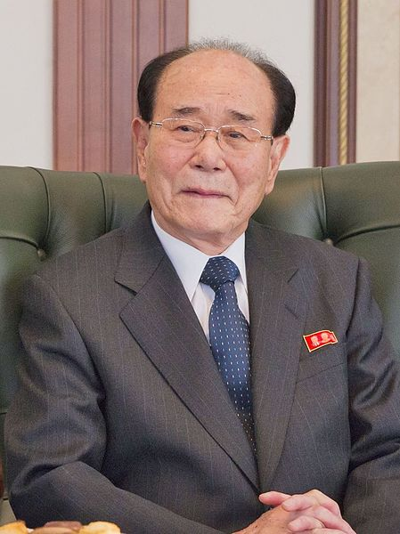 Kim Yong-Nam, former president of the Presidium of the Supreme People's Assembly