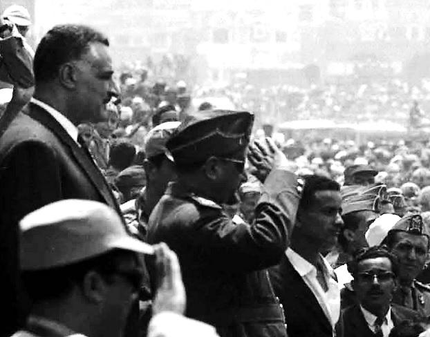Leaders of the United Arab Republic in Sana'a, North Yemen