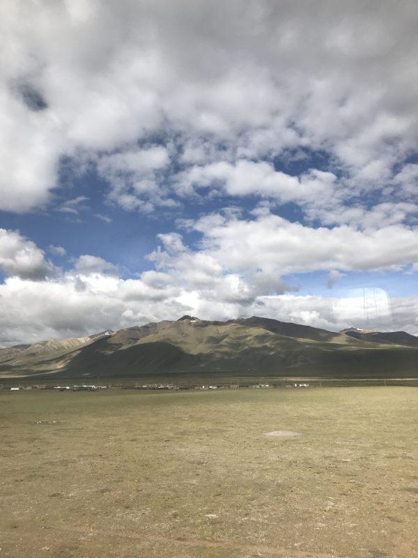 Sceneries of the Tibet train