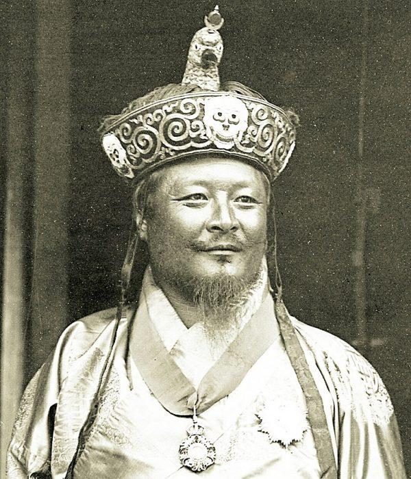 Ugyen Wangchuk, the first king of Bhutan