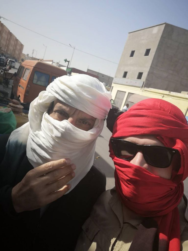 Sahrawi scarves and Sahrawi fashion