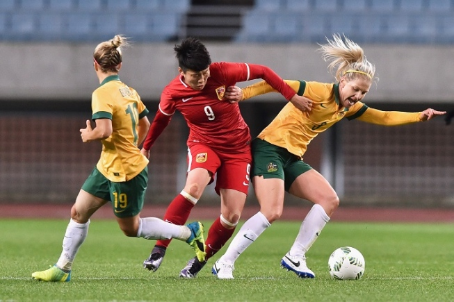 Women's football in China
