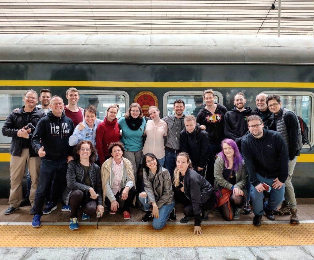 Taking a Korean train trip