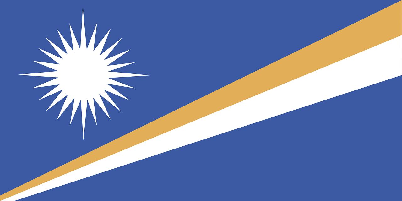 The flag of the Marshall Islands Flag