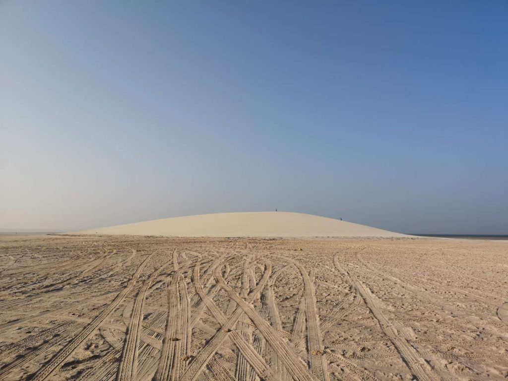 The White Dune of Dakhla amongst things to do in Western Sahara
