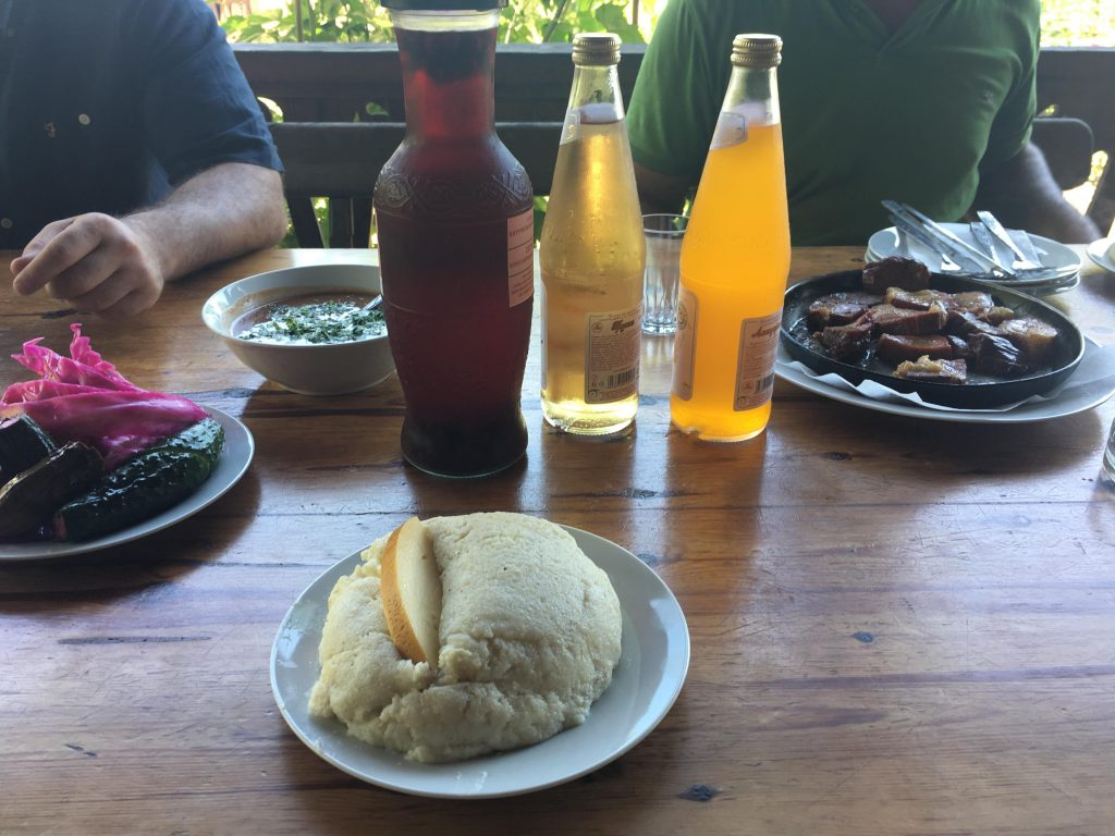 A sampling of the food of Abkhazia