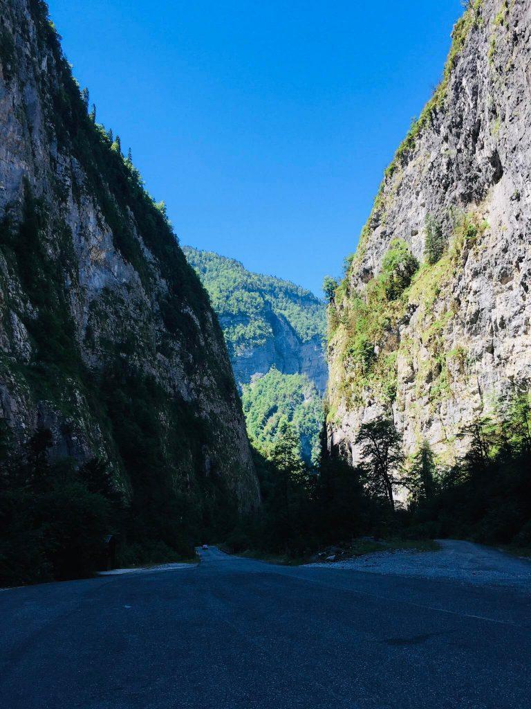 The roads of Abkhazia