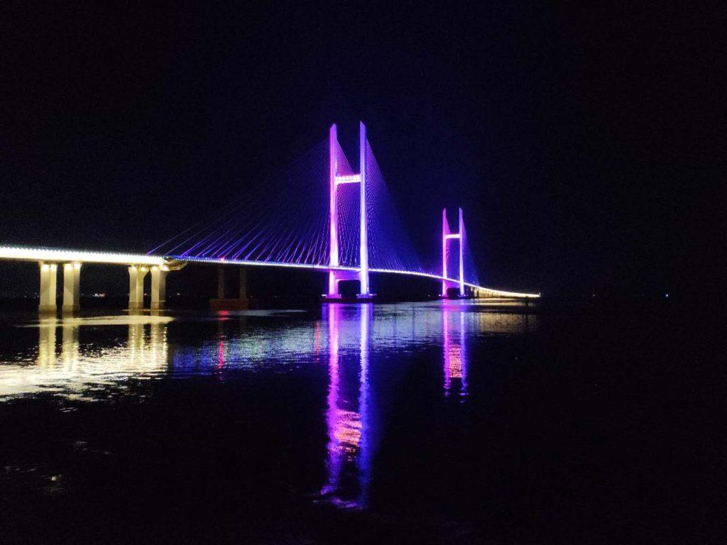 Dandong New Bridge Night