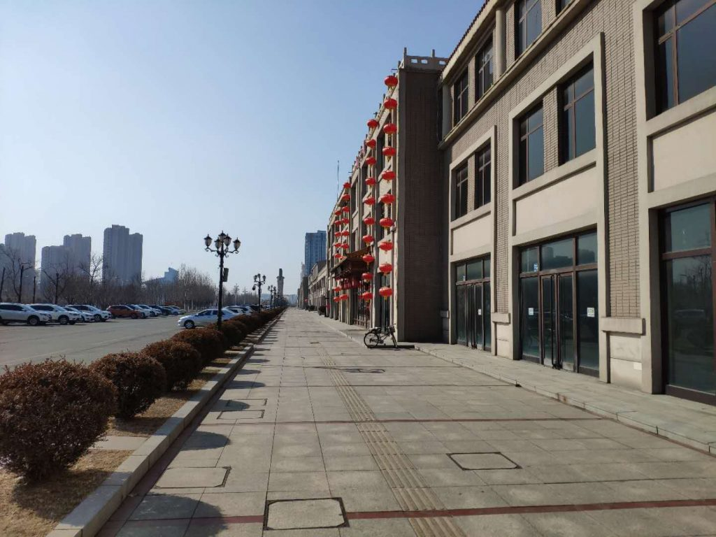 Dandong New Disrict Empty