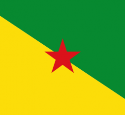 the flag of French Guiana