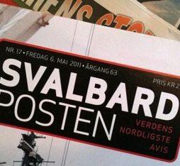 Svalbard Norwegian language newspaper
