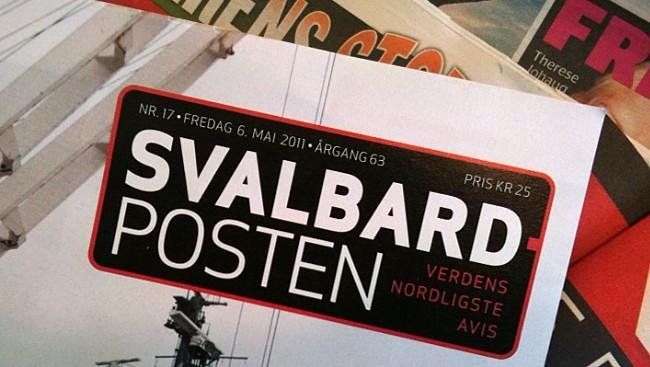 The Svalbard Posten is the Northernmost Newspaper in the world. It is published in Norwegian, the official language of Svalbard.