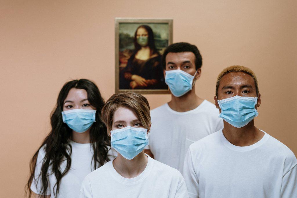 Vaccine passport for the pub - face masks