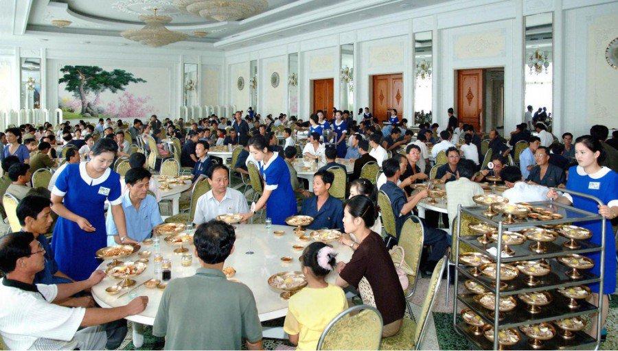 Okryu Gwan Dining Hall