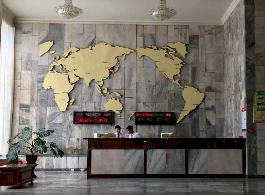 Ryanggang Hotel Reception