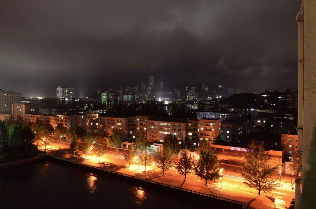 Songdowon Hotel evening shot