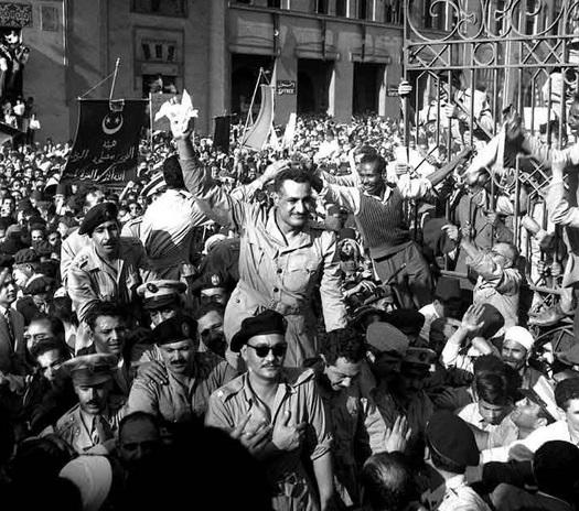Nasser, the founder of Nasserism