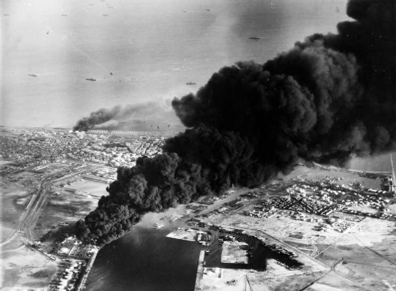 Carnage during the Suez crisis