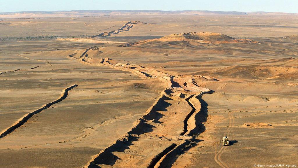 Western Sahara border wall