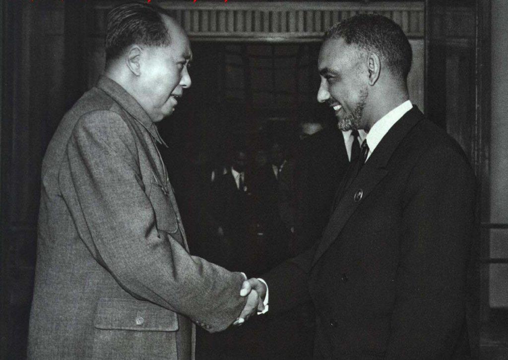 Daddah and Mao, 1968