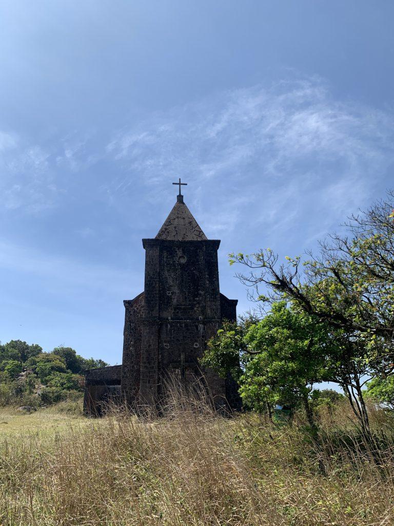 Catholic Church on Bokor Hill