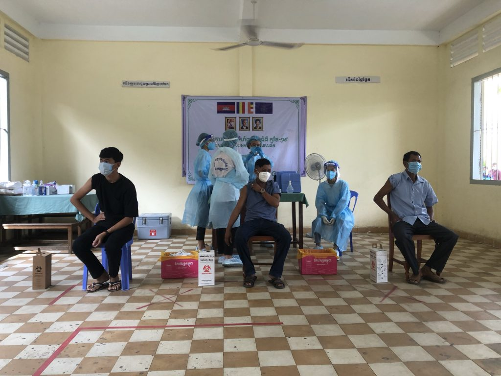vaccine in Cambodia as a foreigner