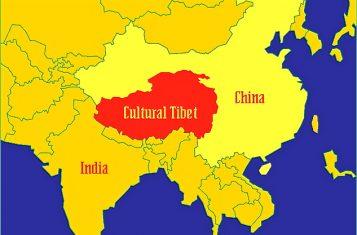 cultural Tibet map
