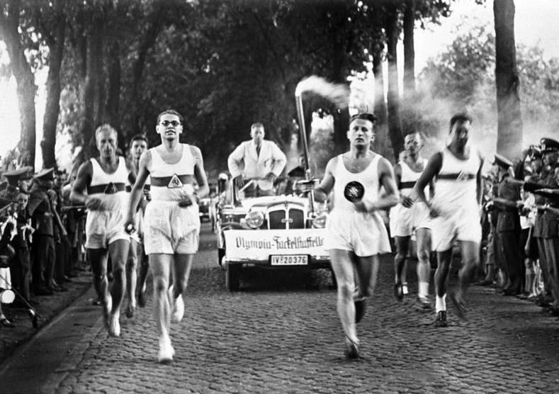1936 Olympics relay