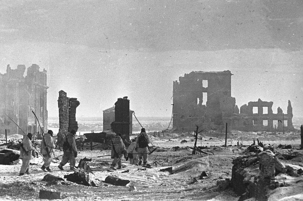 Center of Stalingrad after the battle