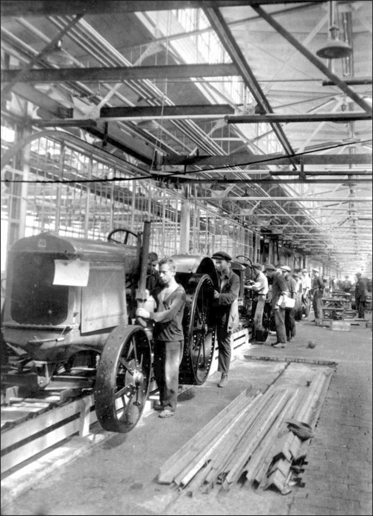 Stalingrad factory in the 1930s