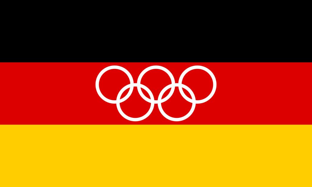 United German Olympic flag