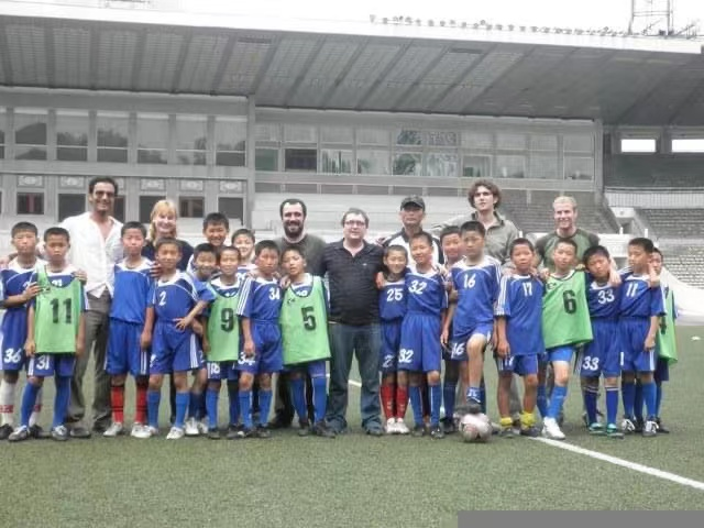Can you play football in North Korea