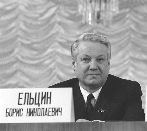 Boris Yeltsin, the archetypical post-Soviet man