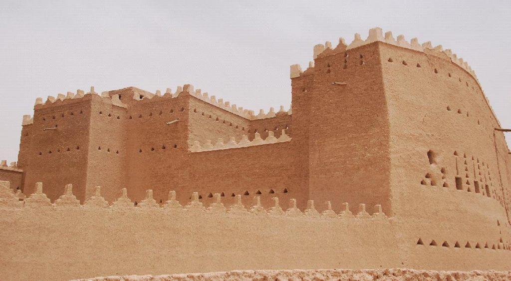 Saudi palace in Diriyah