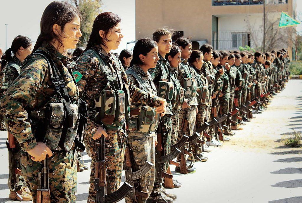 Women YPJ soldiers