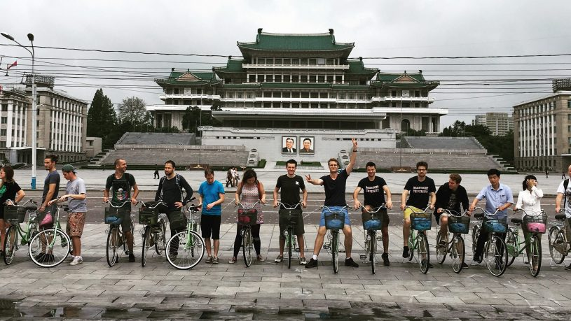 bicycle tour of pyongyang